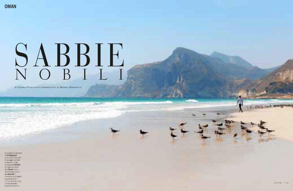 Oman. Sabbie nobili