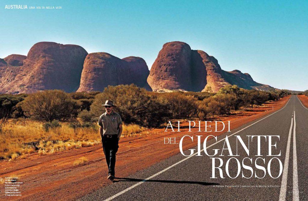 Australia. Ai piedi del Gigante Rosso